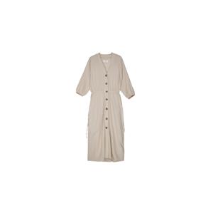 Makia Kielo dress svetlohnedé W75030_122 - vyskúšajte osobne v obchode