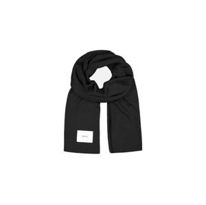 Makia Logical Scarf Merino čierne U85015_999 - vyskúšajte osobne v obchode