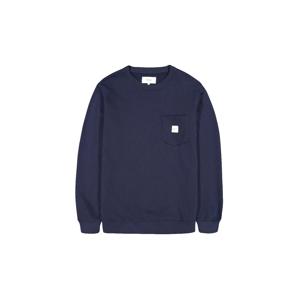 Makia Square Pocket Sweatshirt čierne M41073_661