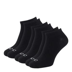 O'NEILL - 3PACK čierne členkové ponožky -35-38