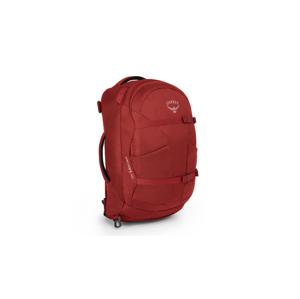 Osprey Farpoint 40 Jasper Red S M červené OSP21060328.02.C02 - vyskúšajte osobne v obchode