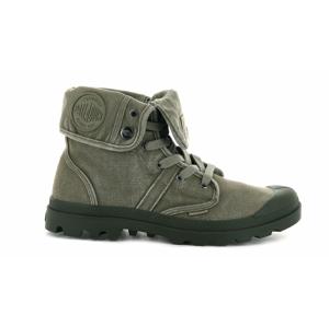 Palladium Boots Pallabrouse Baggy Dusky Green zelené 02478-308-M - vyskúšajte osobne v obchode
