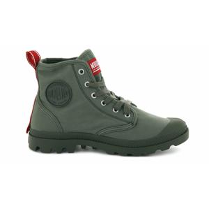 Palladium Boots Pampa Hi Dare Olive Night zelené 76258-325-M - vyskúšajte osobne v obchode