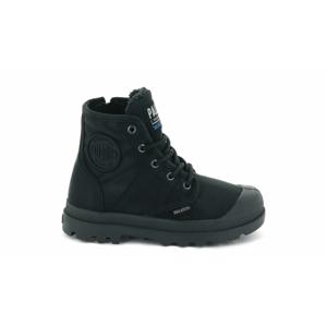 Palladium Pampa Hi Tex WL Waterproof Kids-32 čierne 56033-040-M-32