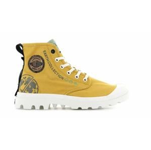 Palladium Pampa Organic Metro Mustard žlté 77022-730-M - vyskúšajte osobne v obchode