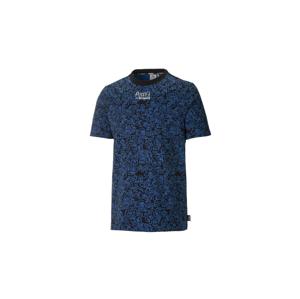 Puma x Mr Doodle Printed Men´s Tee modré 530651-01 - vyskúšajte osobne v obchode