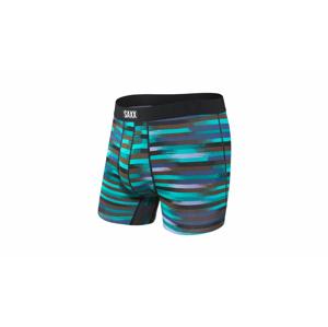 Saxx Undercover Boxer Brief Reflective Stripe-M modré SXBB19RSB-M