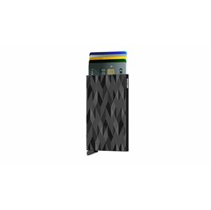 Secrid Cardprotector Laser Black čierne CLa-Zigzag-Black - vyskúšajte osobne v obchode