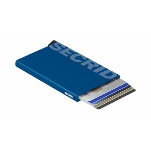 Secrid Cardprotector Laser Logo Blue modré CLa-Logo-Blue - vyskúšajte osobne v obchode