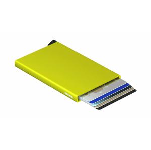 Secrid Cardprotector Lime žlté C-Lime - vyskúšajte osobne v obchode