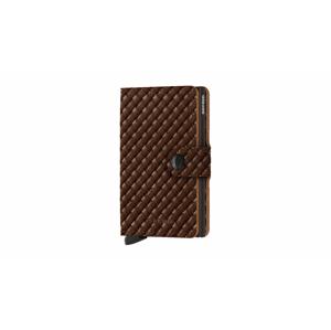 Secrid Miniwallet Basket Brown hnedé MBa-brown - vyskúšajte osobne v obchode