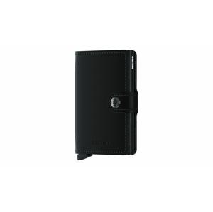 Secrid Miniwallet Matte Black čierne MM-Black - vyskúšajte osobne v obchode