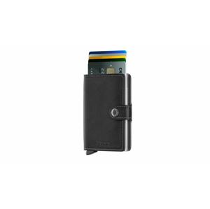 Secrid Miniwallet Original Black čierne M-BLACK - vyskúšajte osobne v obchode