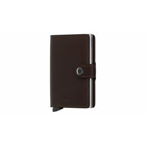 Secrid Miniwallet Original Dark Brown hnedé M-DARK-BROWN - vyskúšajte osobne v obchode