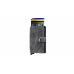 Secrid Miniwallet Vintage Grey Black šedé MV-Grey-Black - vyskúšajte osobne v obchode