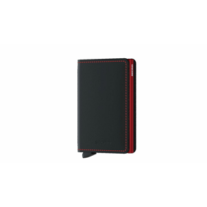 Secrid Slimwallet Matte Black & Red čierne SM-Black-Red - vyskúšajte osobne v obchode