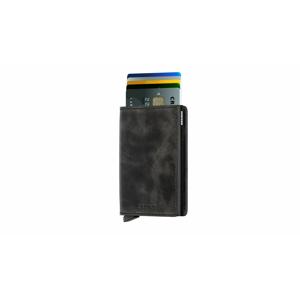 Secrid Slimwallet Vintage Black čierne SV-BLACK - vyskúšajte osobne v obchode
