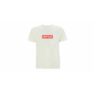 Shooos Red Logo T-Shirt Limited Edition biele 01039-RL - vyskúšajte osobne v obchode