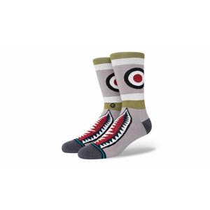 Stance Stample Warbird Crew Sock-8,5-11,5 (L) šedé A545C20WAR-GRN-8,5-11,5 (L)