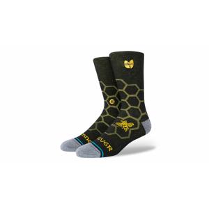 Stance Wu-Tang Hive Crew Sock čierne A545C20HIV-BLK