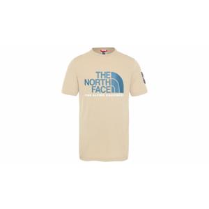 The North Face M Fine Alp Tee 2-M svetlohnedé NF0A4M6NH7E-M