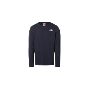 The North Face M L/S Easy Tee XXL modré NF0A2TX1M6S-XXL