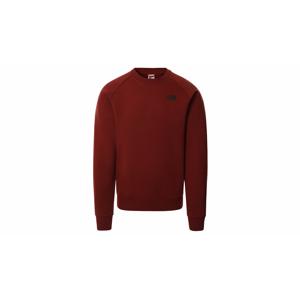 The North Face M Raglan Red Box Sweater-XL bordová NF0A4SZ9BDQ-XL