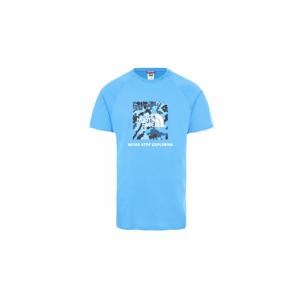 The North Face M Raglan Red Box Tee modré NF0A3BQOVU3 - vyskúšajte osobne v obchode