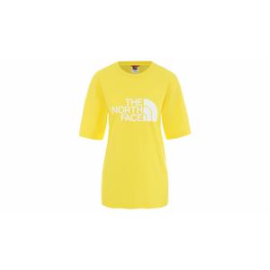 The North Face W Bf Easy Tee Lemon žlté NF0A4M5PDW9 - vyskúšajte osobne v obchode