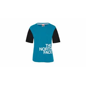 The North Face W Light Ss Tee Crystal Teal modré T93RYL8EE - vyskúšajte osobne v obchode