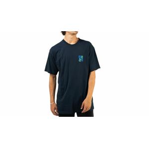 Vans MN Crawling SS Navy T-shirt svetlohnedé VN0A5KCGNVY