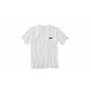 Vans Mn Left Chest Logo Tee biele VN0A3CZEYB2