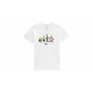 Vans Sandy Liang X Spongebob T-Shirt M biele VN0A5GYWWHT-M
