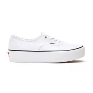 Vans Ua Authentic Platform (Tonal Check) biele VN0A3AV842B - vyskúšajte osobne v obchode