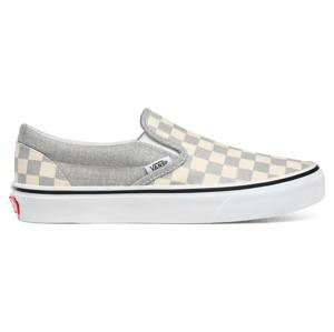 Vans Ua Classic Slip-On (Checkerboard)Silvertrwht šedé VN0A4U38WS3 - vyskúšajte osobne v obchode