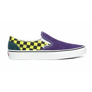 Vans Ua Classic Slip-On (Sprtpk)Strgzr/Mlti/Trwht fialové VN0A4BV3006 - vyskúšajte osobne v obchode