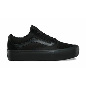 Vans Ua Old Skool Platform Black Black čierne VN0A3B3UBKA1 - vyskúšajte osobne v obchode