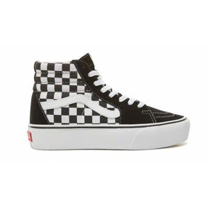 Vans Ua Sk8-Hi Platform 2.0 Checkerboard/True White farebné VN0A3TKNQXH - vyskúšajte osobne v obchode