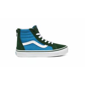 Vans Uy Sk8-Hi Zip (2-Tone) Kids modré VN0A4BUXWK9 - vyskúšajte osobne v obchode
