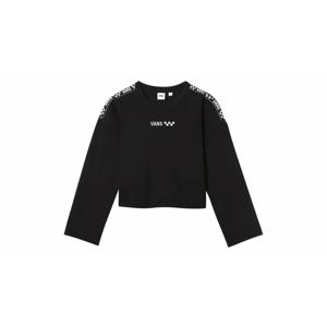 Vans Wm Brand Striper Crew Black čierne VN0A4DPABLK - vyskúšajte osobne v obchode