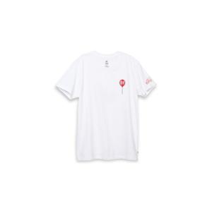 Vans x IT (Terror) WM Boyfriend T-Shirt L biele VN0A53XKZPM-L